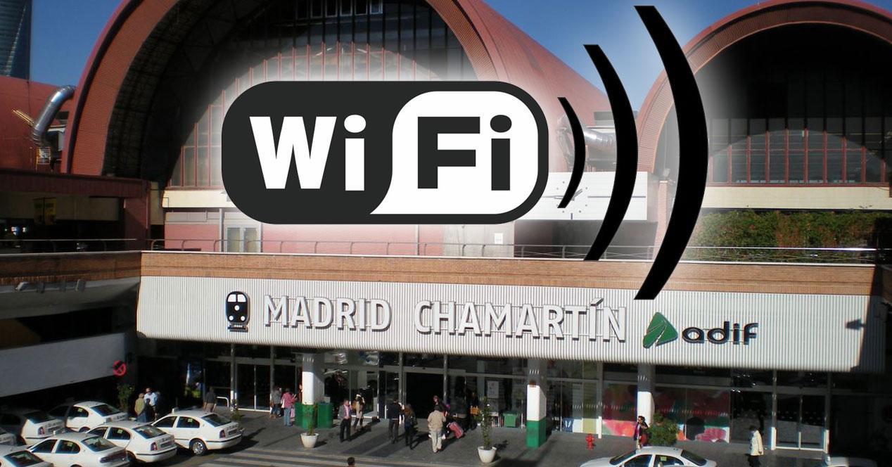 wifi gratis en la estación de chamartín