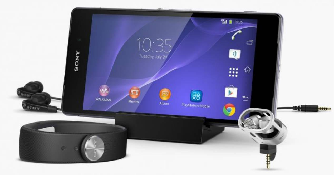 Marshmallow en Sony Xperia Z2 Z2