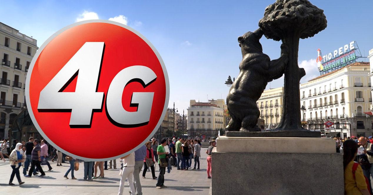 4G oso y madroño madrid