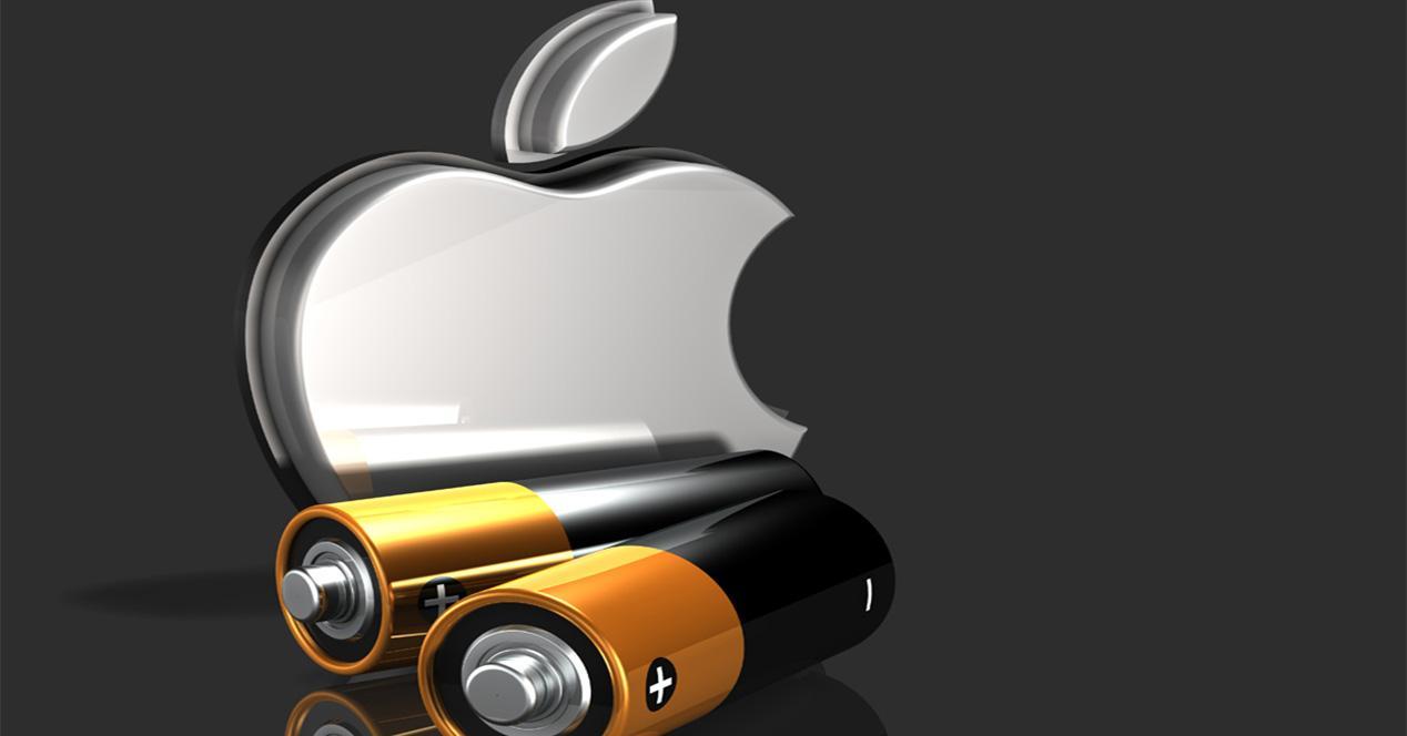 Bateria de teléfonos de Apple