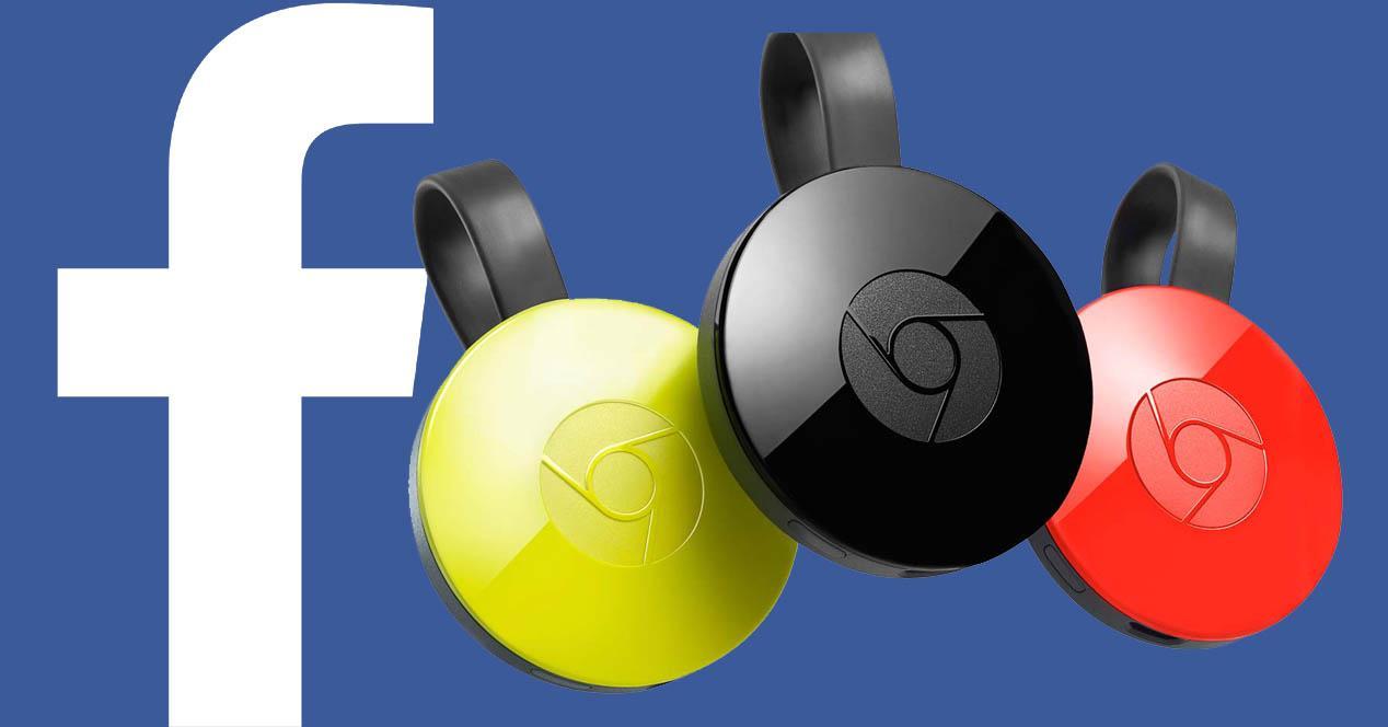 Facebook en Chromecast