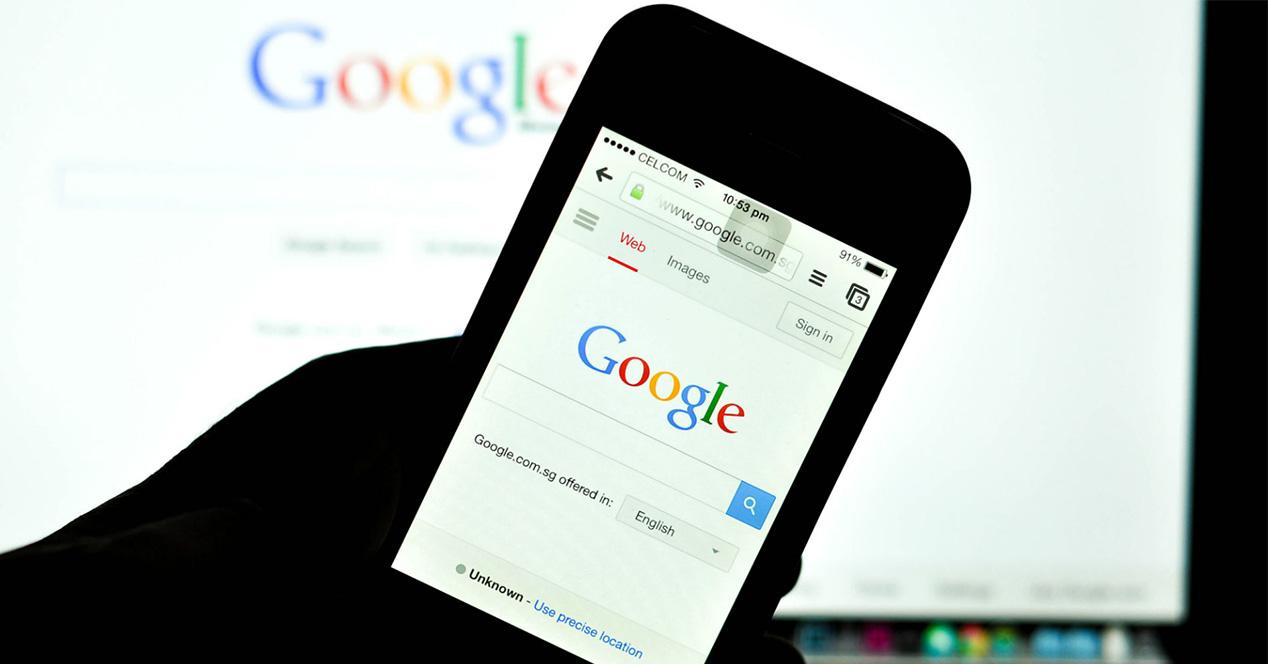 Buscador de Google para iOS