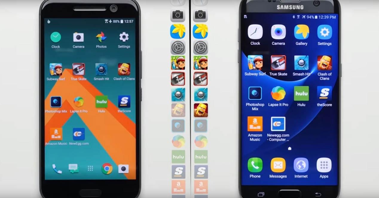 Samsung Galaxy S7 VS HTC 10