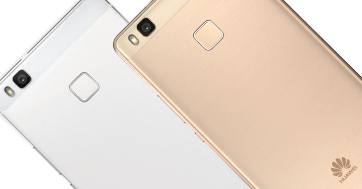 Huawei P9 lite blanco y dorado