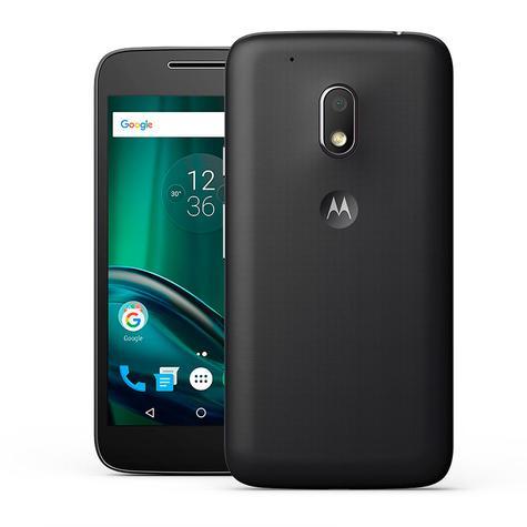 Motorola G4 Play frontal y trasera