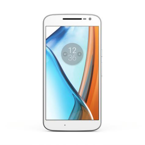 Motorola Moto G4 blanco frontal