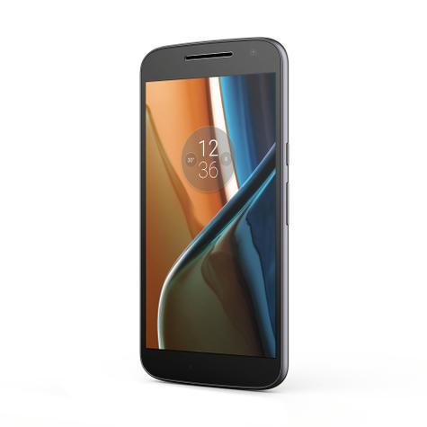 Motorola Moto G4 en color negro