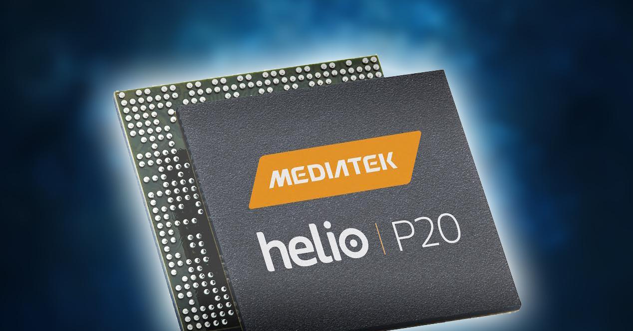 Procesador MediaTek P20