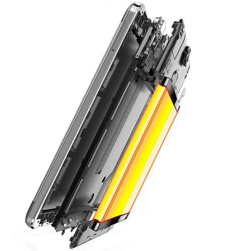 Oukitel 6000 Pro detalle bateria partes internas