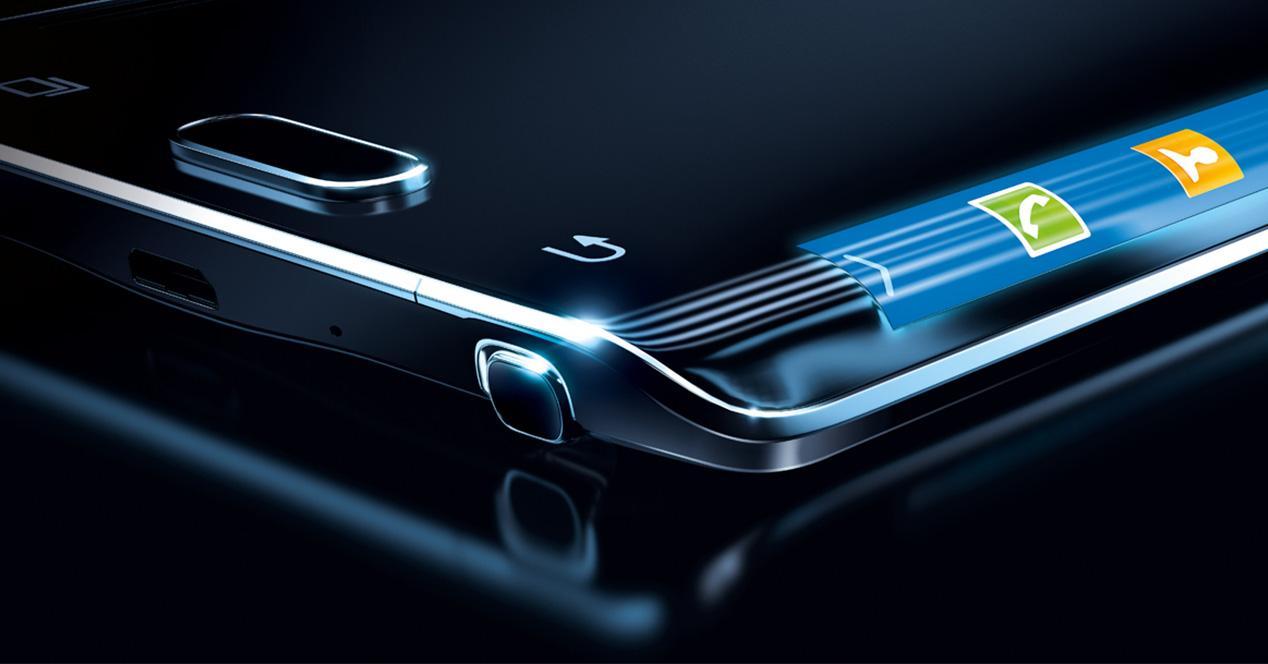 Samsung Galaxy Note con pantalla curva
