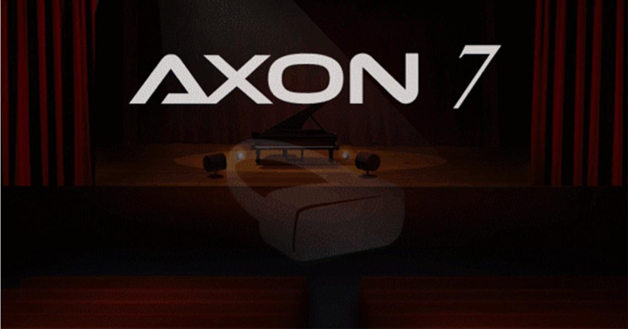 Teaser del ZTE AXON 7