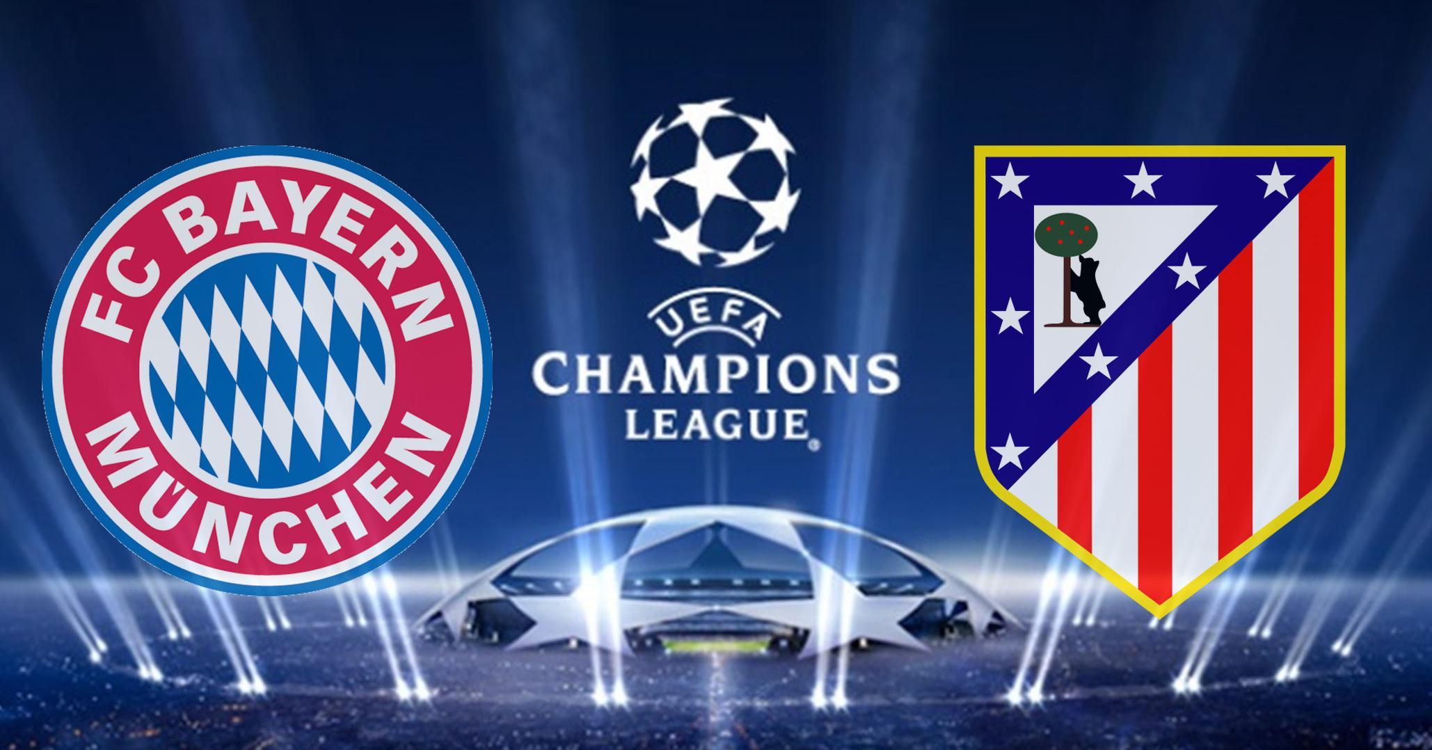ver online el Bayern de Munich vs Atlético de Madrid