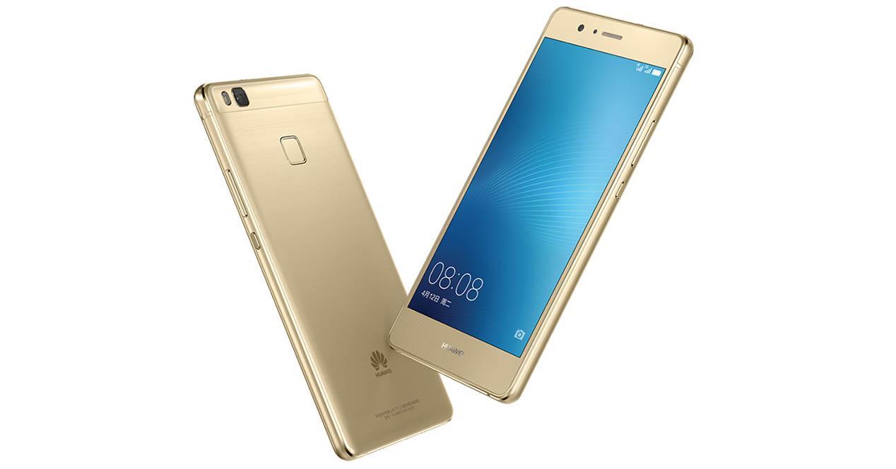 Huawei G9 Lite dorado