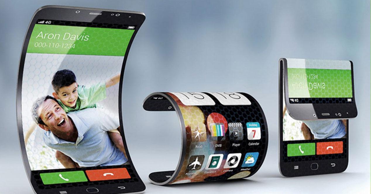 móviles flexibles