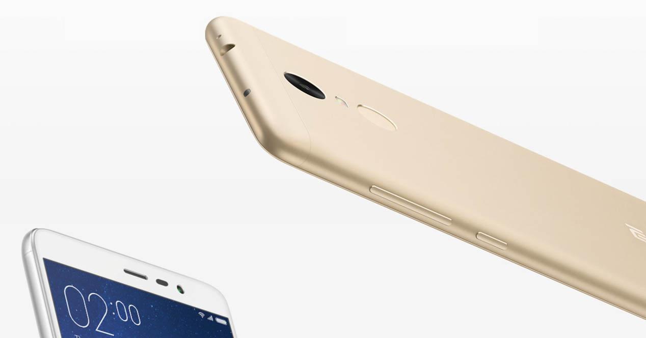 Xiaomi redmi note 3 dorado