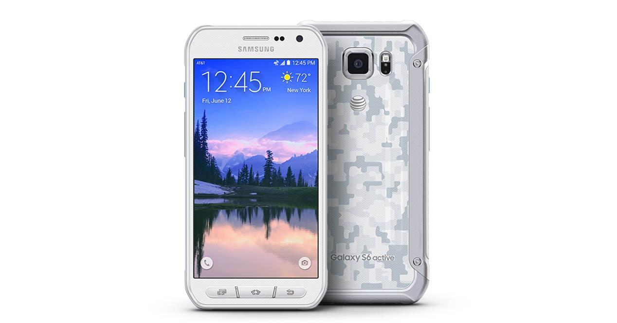 Samsung Galaxy S6 Active color blanco