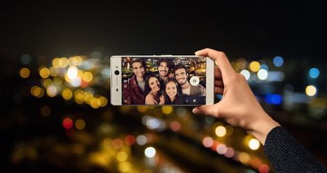 Sony Xperia XA Ultra en color plateado