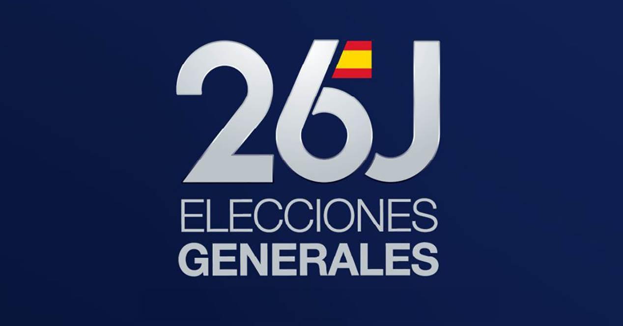 Elecciones Generales 26J logotipo