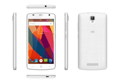 ZTE Blade L5 Plus en color blanco