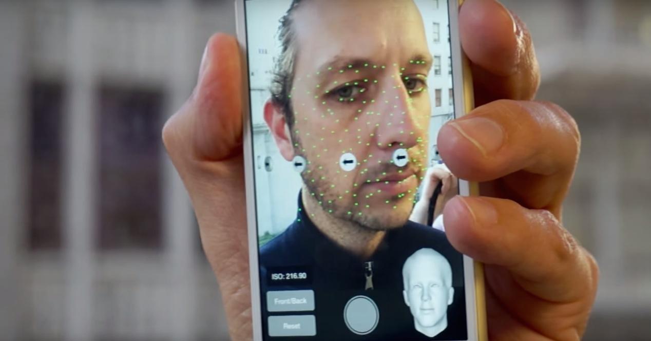 avatar en 3d con smartphone