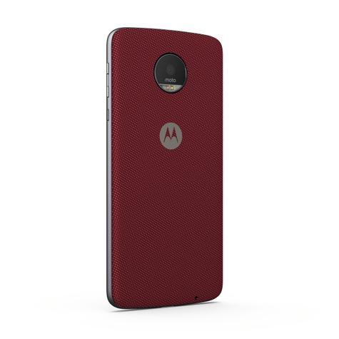 Lenovo Moto Z color rojo oscuro