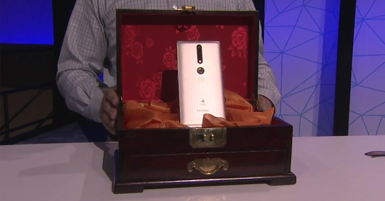 Presentación de los smartphones Lenovo PHAB2 Project Tango