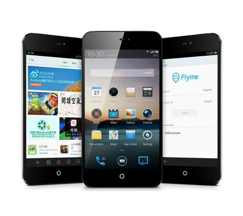 Meizu MX2 con Android y Fyme 3.0