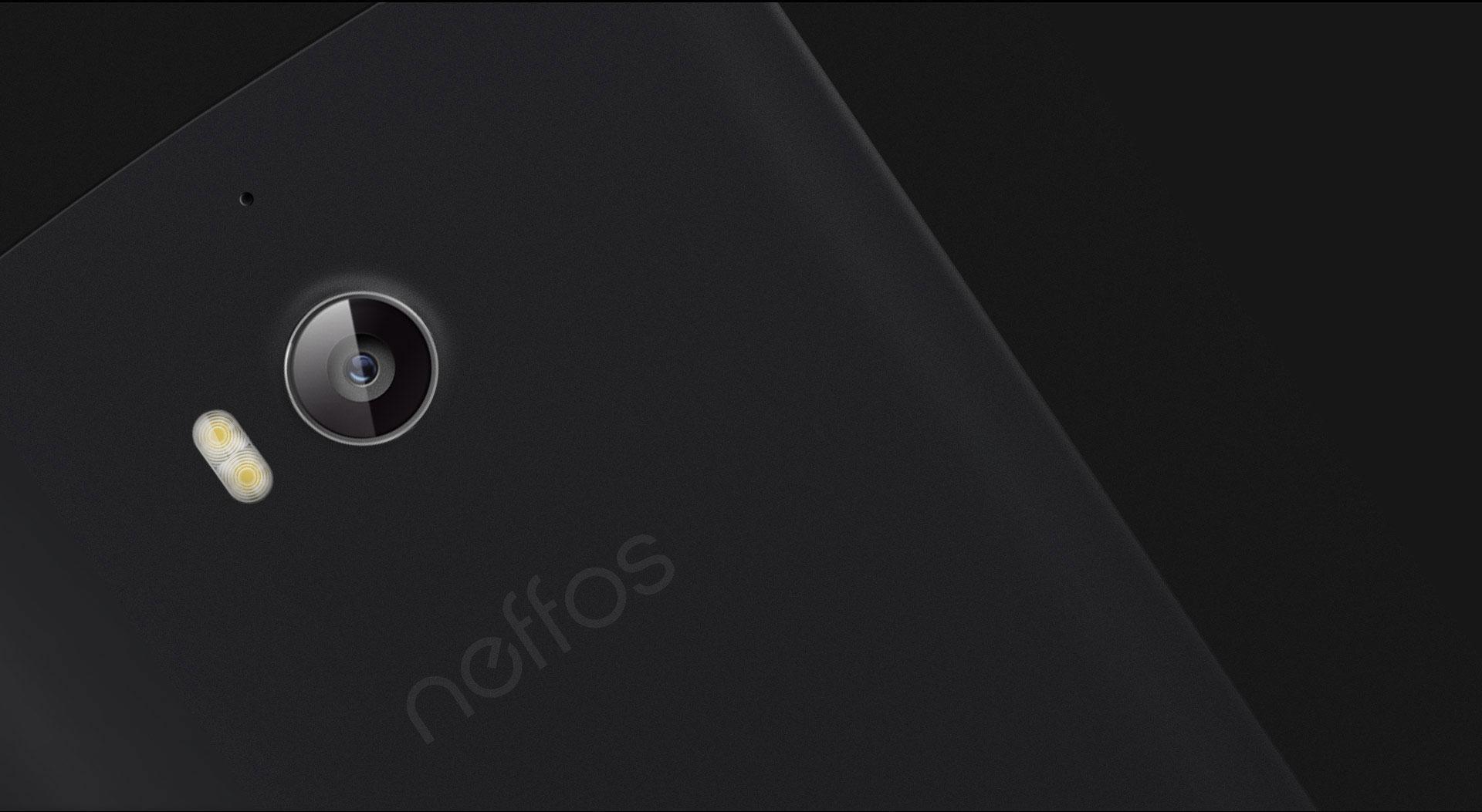 Neffos C5 Max detalle de la cámara