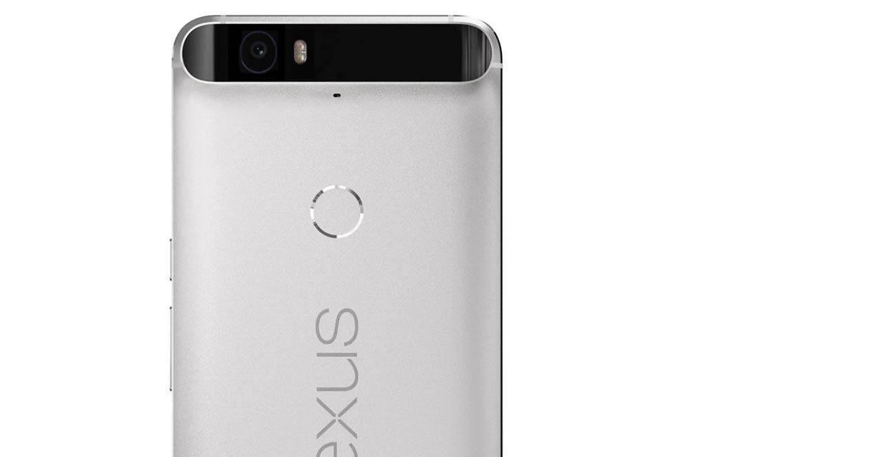 parte trasera del Nexus 6P