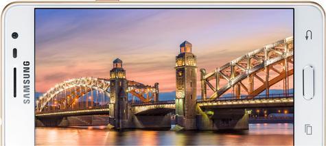 Samsung Galaxy J3 Pro posición horizontal