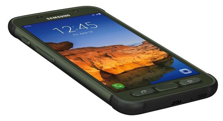 Samsung Galaxy S7 Active en color negro