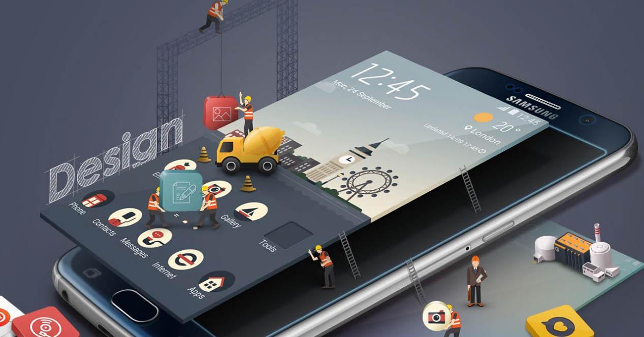 TouchWiz en construccion