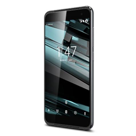 Vodafone Smart Platinum 7 vista letral color negro