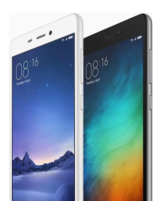 Xiaomi Redmi 3S blanco y negro
