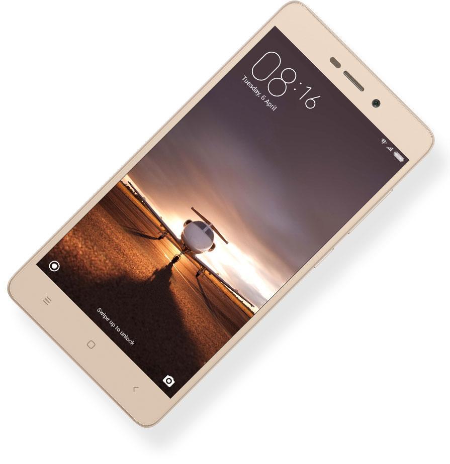 Xiaomi Redmi 3S color oro
