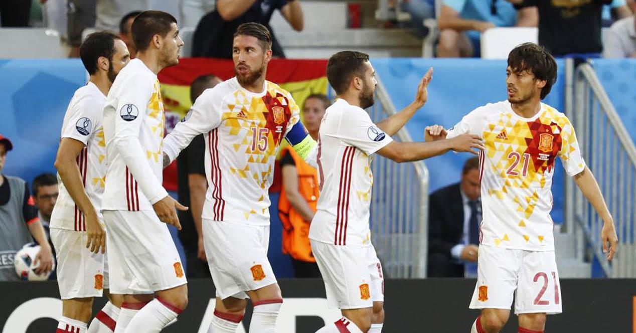 Eurocopa 2016 seleccion espanola