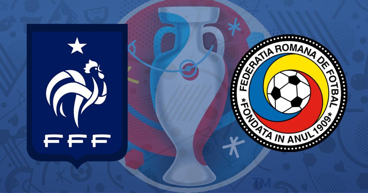 Francia vs Rumanía Eurocopa 2016