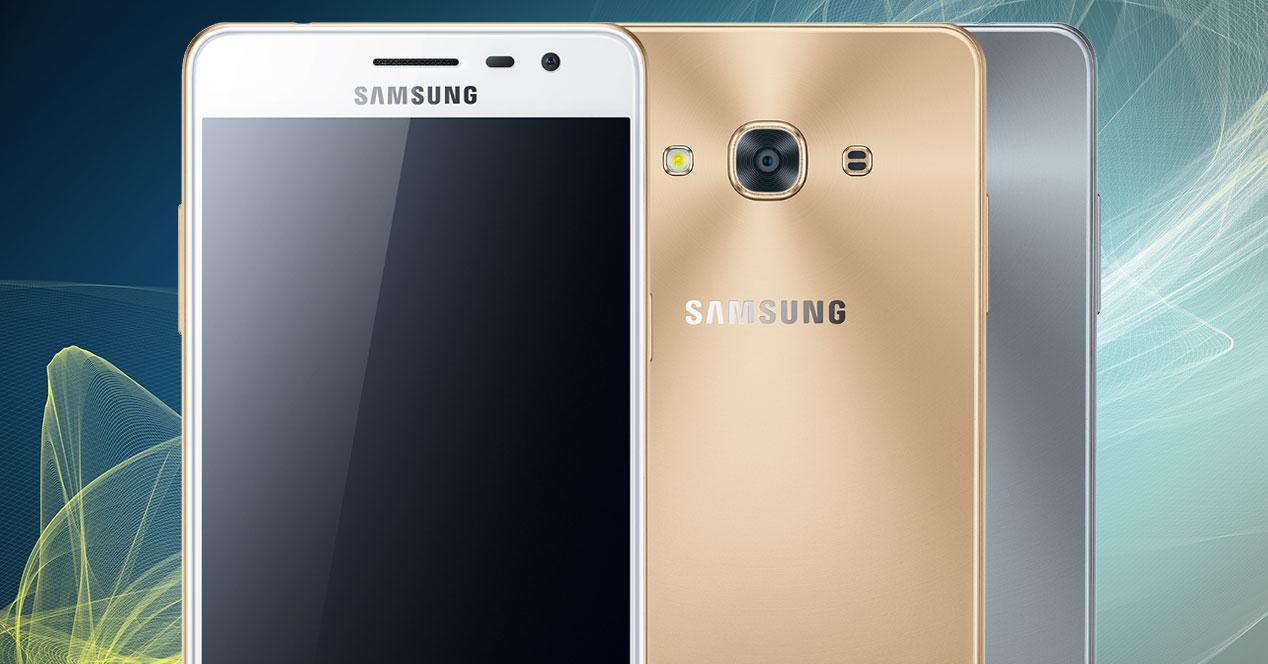Samsung Galaxy J3 Pro dos colores a la mitad