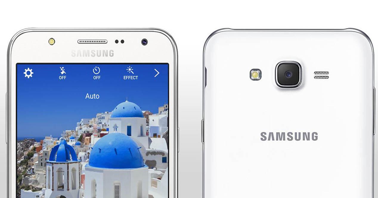 Samsung Galaxy J5 color blanco