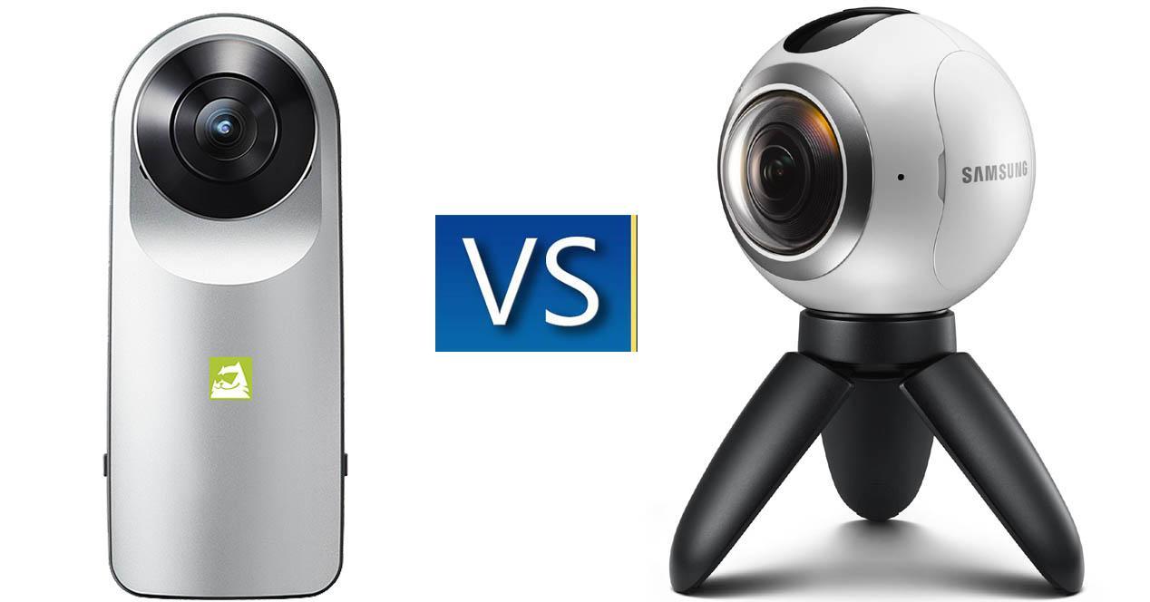 Gear 360 vs LG 360