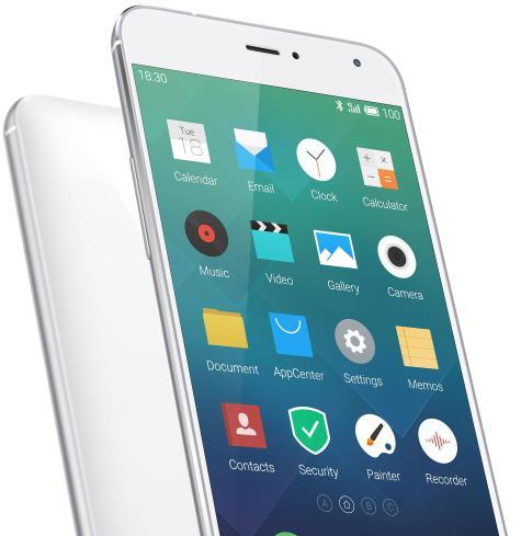 Meizu MX4 Pro detalle de carcasa