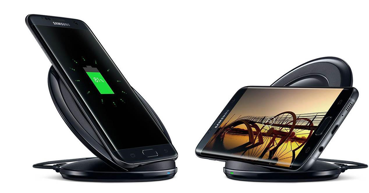 Samsung Galaxy S7 cargador inalambrico