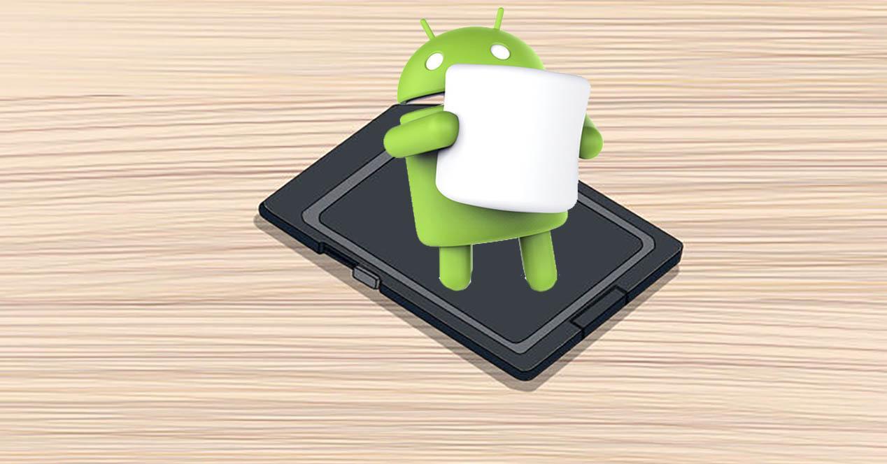 Android Marshmallow microSD