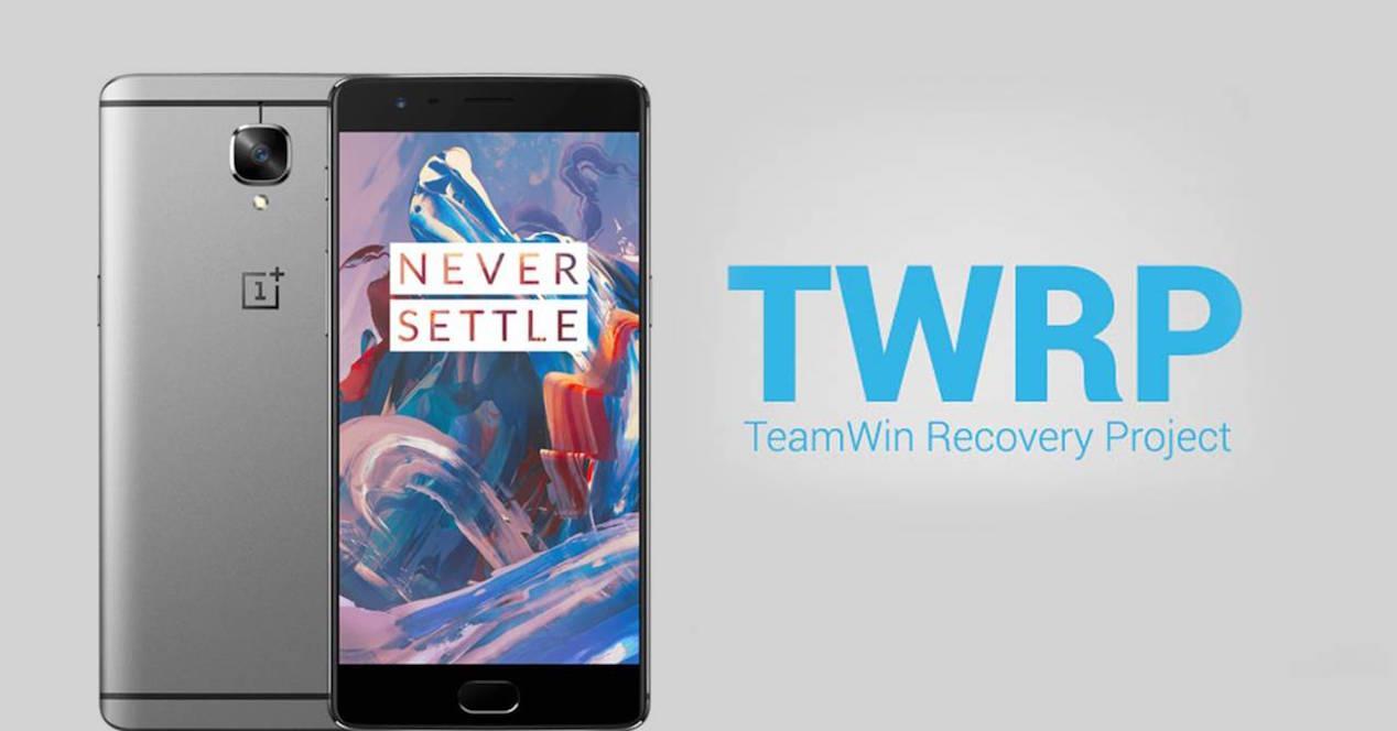TWRP para el OnePlus 3
