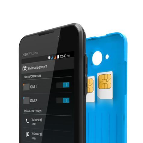 Energy Phone Colors detalle doble SIM