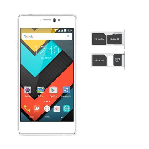 Energy Phone Pro 4G Pearl con SIM y tarjetas de memoria