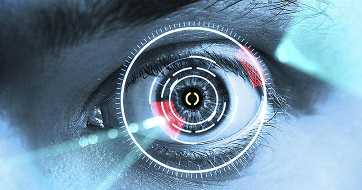 Escáner de iris para smartphones