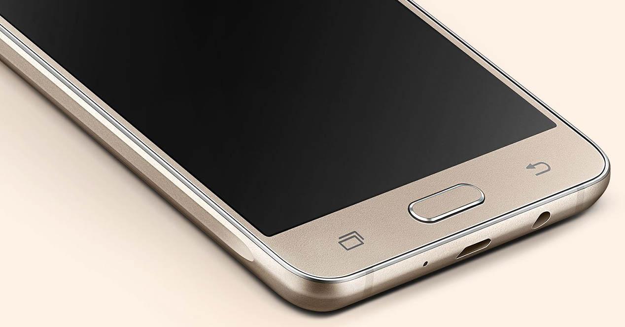 Samsung Galaxy J5 2016 color dorado