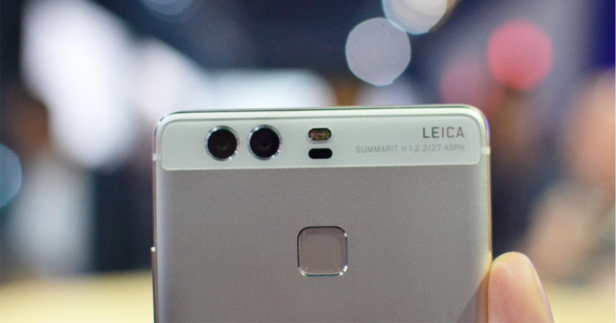 Huawei P9 camara y lector de huellas