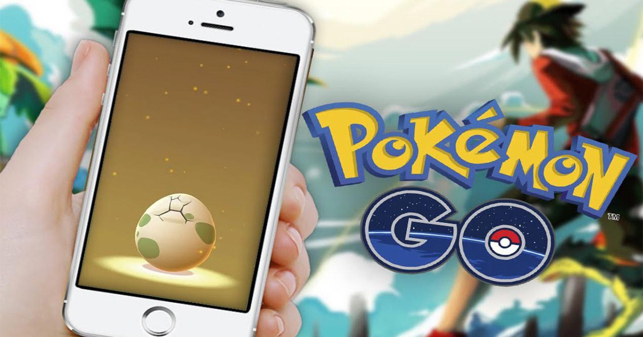 Incubación de huevo en Pokémon GO
